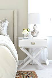... a bedroom with a mixture of repurposed thrift store furniture and  budget items you can find online! Great bedroom decorating and night stand  ideas!