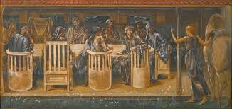 file edward burne jones the knights of the round table summoned to the