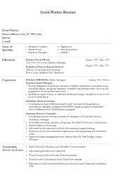 Objective For Social Work Resume Social Work Resume Templates Social Worker Objective Work Resume 92