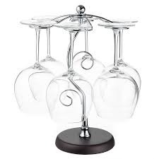 Metal wine glass rack Kitchen Amazoncom Artistic Elegant Hook Silver Chrome Tone Metal Wine Glass Holder Stand Stemware Rack Air Drying System Tree Display Kitchen Dining Macys Amazoncom Artistic Elegant Hook Silver Chrome Tone Metal Wine
