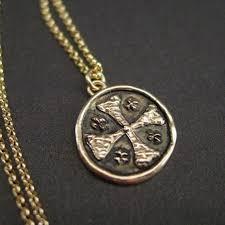 jerum cross necklace crusader