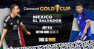 Mexico vs El Salvador (Gold Cup) (Jul ...