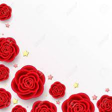 Red Rose Flower Images 3d