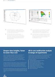 Design Of Experiments Tools All In One Multivariate Data Analysis And Design Of