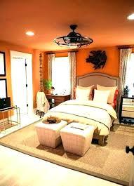 Brown And Orange Bedroom Ideas Custom Decoration