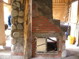 Building A Fireplace Fireplace Mass Stove Oven Water Heater And Staircase All In