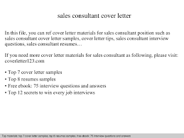 Sales Consultant Resume  consulting resume samples  consulting     My Perfect Cover Letter