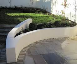 garden wall ideas dublin. supporting plastered curving garden wall ideas dublin
