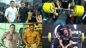 Khan Brothers <b>Gym Workout Fitness</b> Challenge Videos -Salman ...