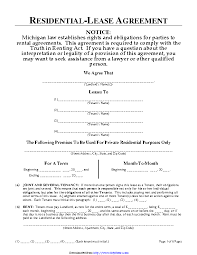 Permalink to Property Lease Agreement Form – Free Rental Lease Agreement Templates Residential Commercial Word Pdf Eforms – Tenants agree to pay their rent in the form of a personal check, a cashier's 8.