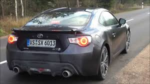 Toyota GT 86 Test Drive Acceleration, Top Speed, Exhaust Sound etc ...