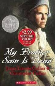 my brother sam is dead discussion guide scholastic my brother sam is dead