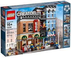 Đồ chơi lắp ráp LEGO Creator Expert 10246 - Mô hình cao cấp Văn phòng Thám  tử (LEGO Creator Expert Detective's Office 10246) giá rẻ tại cửa hàng  LegoHouse.vn LEGO Việt Nam