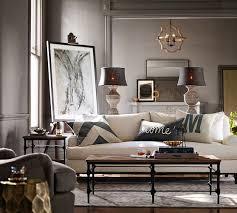pottery barn living room save up