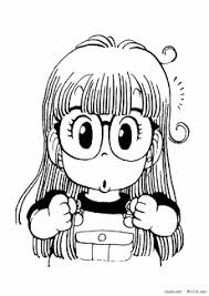 Drスランプ アラレちゃん ぬりえ 無料アニメキャラクター