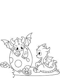 Baby Dragon Coloring Pages Coloring Pages For Children