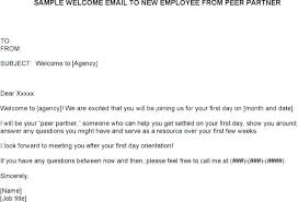 New Hire Welcome Email Template New Hire Welcome Email