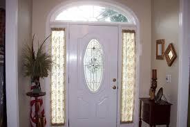 front door window treatmentsSidelight Window Treatments on the Main Entry Doors  HomesFeed