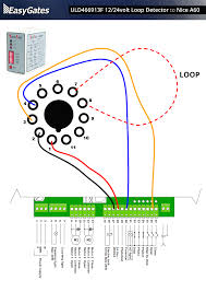 12 24 volt loop detector to nice a60 control board throughout 24vac transformer wiring diagram at 24 Volt Control Wiring