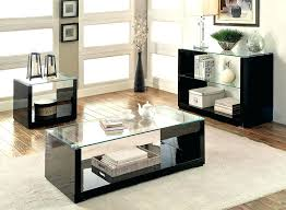 3 piece glass coffee table sets 3 piece glass coffee table set combination t m l f 3 pc