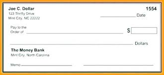 Check Writing Templates Editable Blank Check Template Beautiful Ms Word Book New