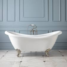architecture isabella copper double slipper clawfoot tub nesting in nashville intended for bear claw bathtub