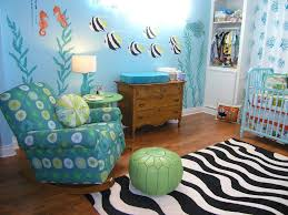 ocean theme babyroom decor
