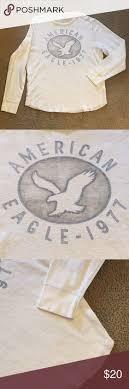 <b>American Eagle</b> 🦅 <b>AEO 1977</b> Graphic Thermal Shirt Graphic ...