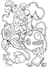 Small Picture Coloring Pages Cat In The Hat Pdf Printable Free To Print For Kids