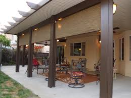 brilliant wood patio cover kits here is a side view of the glulam beamed patio cover build wood home design concept
