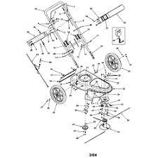 troybilt high wheel trimmer parts model sears partsdirect handle engine