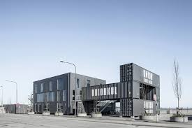 container office building. Contemporary Building Arcgencyu0027s Shipping Container Offices In Copenhagen Are Made To Be Moved In Container Office Building