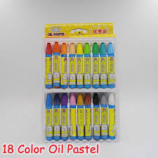 forrest kawaii cartoon bear painting supplies kids 36 color oil pastel pencil for drawing wax