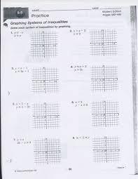 adorable homework algebra ii mr frym astonishing algebra 1 lesson 7 graphing systems of equations you worksheet