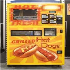 Hot Food Vending Machines Enchanting Hot Dog Vending MachineWeird Vending Machines