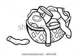laundry basket clipart. Laundry Basket Clipart