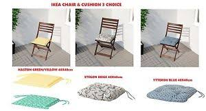 Ikea Chair Cushion Kitchen Office Home Chair Seat Pad Soft Outdoor