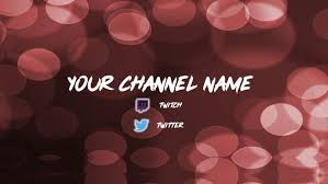 Youtube Channel Art Background Make A Youtube Channel Art Banner By Mris_0219