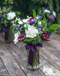 Paper Flower Arrangements Mix Paper Flowers With Fresh Leaves Lavender To Make A Gorgeous