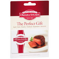 omaha steaks non denominational gift card
