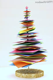 Colorful Christmas Tree Craft  Sugar Bee CraftsFoam Christmas Tree Crafts