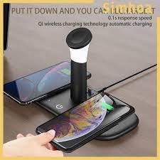 Đế sạc không dây LH5 đa năng 5 trong 1 có đèn chất lượng cao cho Iphone 12  / 11 / 11 Pro Iwatch giá cạnh tranh
