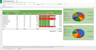 Asset Allocation Spreadsheet Moneysmartguides Com