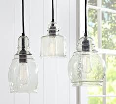 rustic glass pendant lighting. Best Glass Pendant Lights Lighting Pottery Barn In Decor Rustic