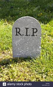 Grave Decoration Rip Halloween Grave Decoration On Yard Stock Photo Royalty Free