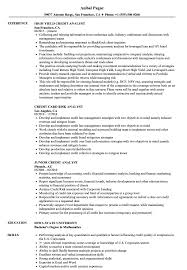 Credit Analyst Resume Credit Analyst Analyst Resume Samples Velvet Jobs 1