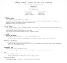 Resume Sample For High School Student Mmventures Co