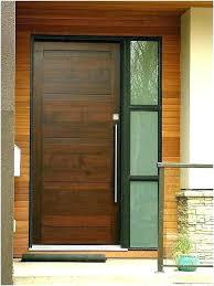 dark wood front door modern exterior doors contemporary with glass