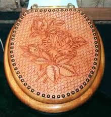 toilet solid oak wood toilet seat with leather cover home decor wood toilet seat covers