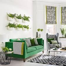 green living room ideas plant wall